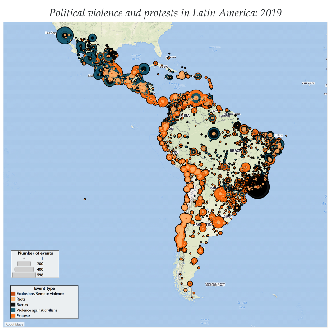 Picture of: Acled Expands Coverage To Latin America And The Caribbean Acled